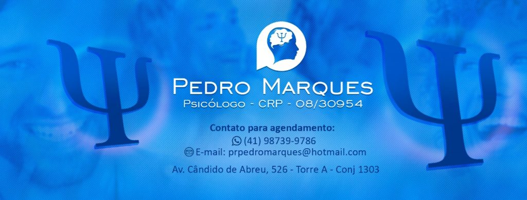 Psicólogo Pedro Marques